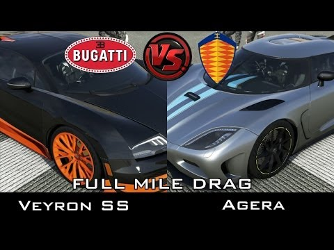 forza 5 full mile drag bugatti veyron ss vs hennessy venom gt musica movil. Black Bedroom Furniture Sets. Home Design Ideas