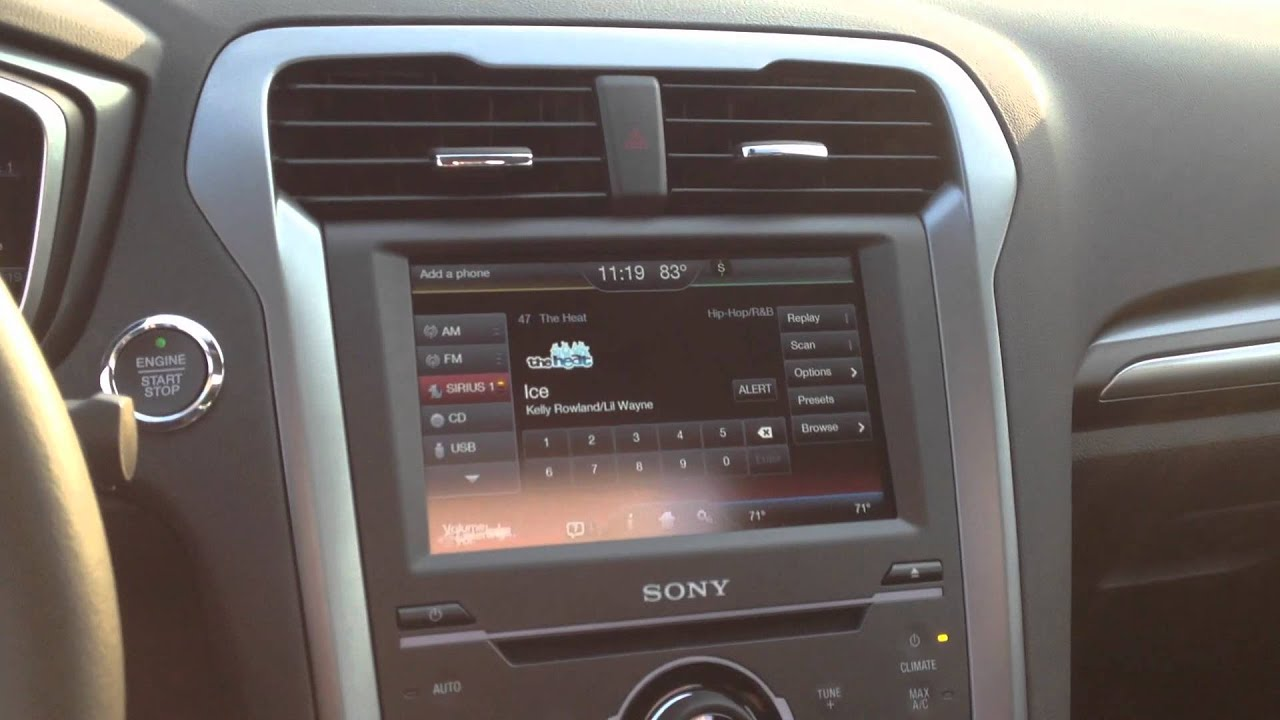 2013 ford fusion change the radio station with your. Black Bedroom Furniture Sets. Home Design Ideas