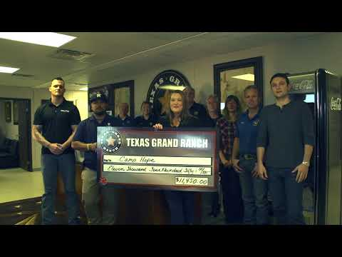 Texas Grand Ranch has a lot to be thankful for this holiday season, and they want to give back.