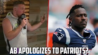 Antonio Brown Apologizes To The Patriots?