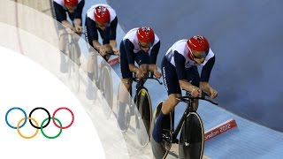 Cycling Track Men's Team Pursuit Gold Medal Finals - GBR v AUS Full Replay - London 2012 Olympics