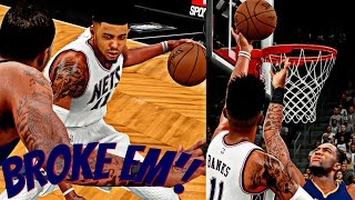 NBA 2K16 MyCAREER - FREDDY WELCOMES THESE BOYS TO ANKLE CITY! | CLUTCH FINISH! FREDDY HAS TO STEP UP