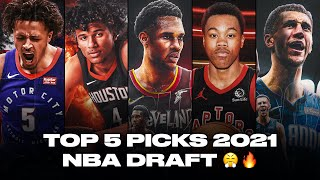 Meet The Top 5 Picks Of 2021 NBA Draft | Who Will Be The Best Player From?