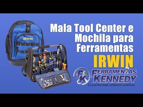 "Bolsa/mala para Ferramentas Tool Center 18"" Iw14080 Irwin - Vídeo explicativo"