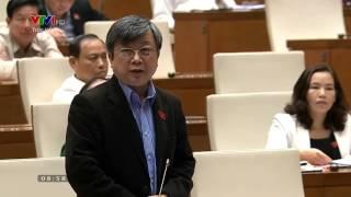 Đại biểu Trương Trọng Nghĩa chất vấn Thủ tướng về việc vay vốn Trung Quốc   VnExpress