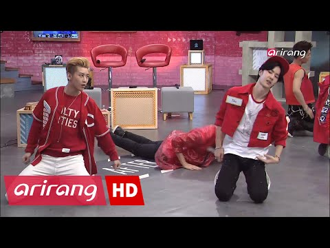 [HOT!] Kevin and Eric cover Jimin's eyes from UNIQ's 19+ sexy dance