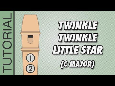 Twinkle Twinkle Little Star - Recorder (C Major)