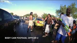 Police Body Cam of Lubbock Water Fight Incident