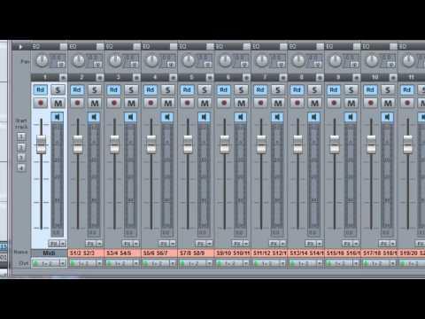 Samplitude & Superior Drummer multi-outs: Part 1