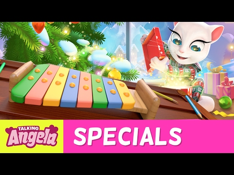Music Tutorial - Jingle Bells (Fun With Friends) by Talking Angela