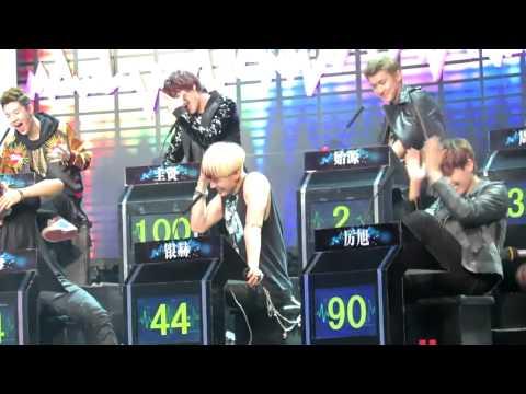 SJ-M Dolpins Scream?! HBSTV Challenge Recording 130126 [Fan Cam]