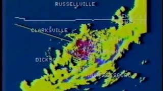 Severe weather coverage, WTVF-TV Nashville, Christmas Eve 1988