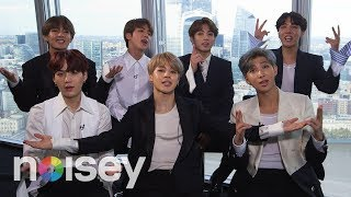BTS on Having No Friends, Drake and Pokémon - The Noisey Questionnaire of Life
