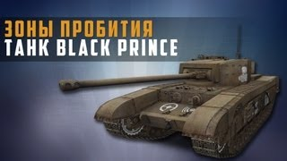 World of Tanks гайд по пробитию Black Prince