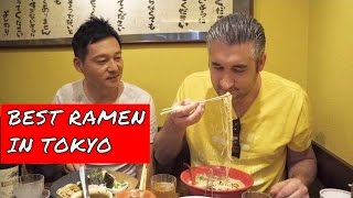 BEST RAMEN IN TOKYO | Amazing Ramen Noodles in Shinjuku