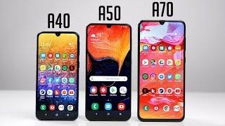 Samsung Galaxy A40 vs. A50 vs. A70 - Die wichtigsten Unterschiede & Kaufberatung (Deutsch) | SwagTab