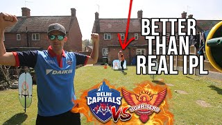 Backyard IPL BATTLE | Better Than the REAL IPL *shocking result!