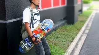 Hướng dẫn tự tập Trượt ván - Skateboard căn bản cho bé yêu