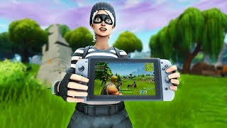 So I played Fortnite on Nintendo Switch  and this happened..