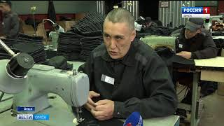 В Омской исправительной колонии № 6 наладили производство обуви