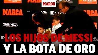 Bota de Oro 2019: La divertida entrega de la Bota de Oro a Leo Messi I MARCA