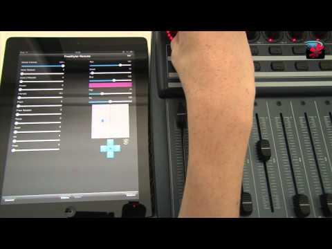 Midi Control - FreeStyler DMX Remote for iPad