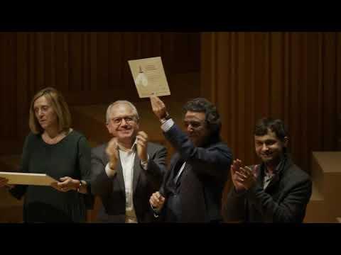 Entrega premios Categoría Martín i Soler IV Concurs Bankia d'Orquestres de la Comunitat Valenciana