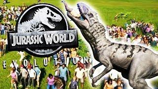 Carnivore Rampage Vs. A Human Zoo! - Jurassic World Evolution Gameplay