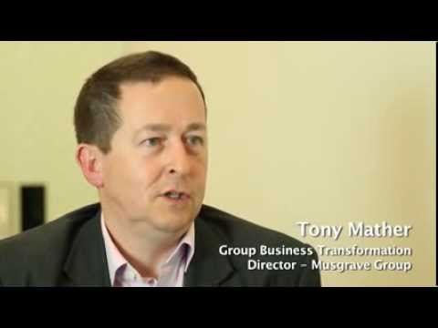 Interview with Tony Mather, Group Business Transformation Director for Musgrave Group