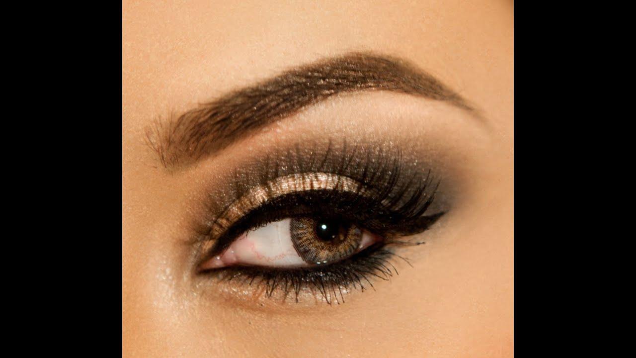 Holiday eye makeup