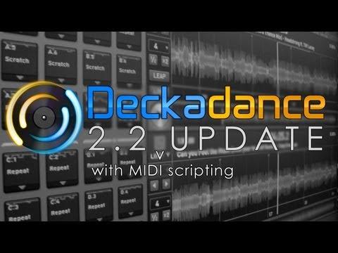 Deckadance 2.2 | MIDI Scripting Demo [ NuMark Mixtrack Pro II ]