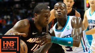 Miami Heat vs Charlotte Hornets - Full Game Highlights | October 9, 2019 NBA Preseason