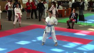 KATA **2014 International Escaldes Karate OPEN...ANDORRA ** YKC