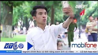 Trải nghiệm wifi free trên phố đi bộ quanh Hồ Gươm   VTC