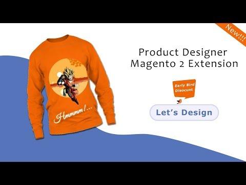 Magento 2 Product Designer (Updated!) - T Shirt Designer Software HTML5+Angular - SetuBridge