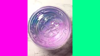 Colored Clear Slime ASMR | Most Satisfying Slime ASMR | 10 minutes of no talking