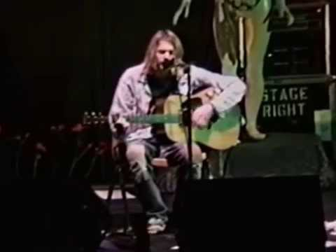 Nirvana - Jesus Doesn't Want Me for a Sunbeam - Live in Stabler Arena, November 9, 1993