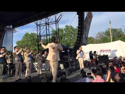Banda el Recodo el plaza garibaldi 2015