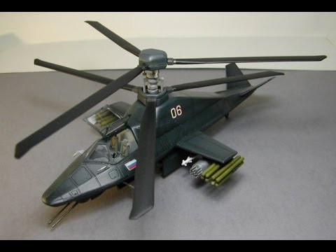 Russian Kamov (Ka-58) Black Ghost Stealth Helicopter - YouTube