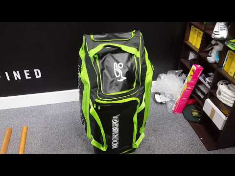 Kookaburra Pro Players Wheelie (2018) Cricket Bag