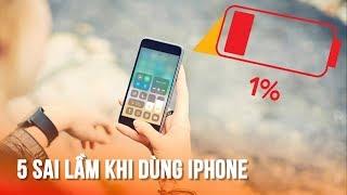 5 quan niệm cực sai lầm khi sử dụng pin iPhone (Cảnh báo có thể bạn chưa biết)