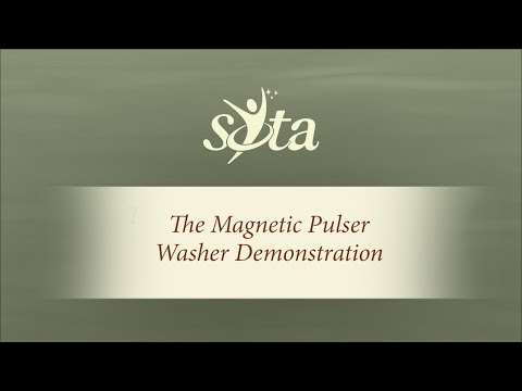 The SOTA Magnetic Pulser - Flying Washer Demonstration