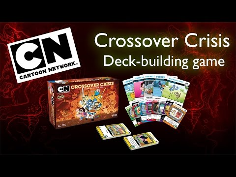 Cartoon Network Crossover Crisis Deck-building Game - Sneak Preview