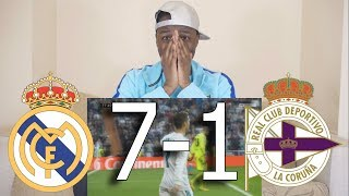 Barcelona Fan React To ● Real Madrid VS Deportivo 7-1 ● All Goals & Highlights
