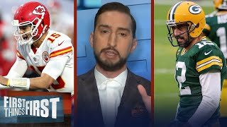 Packers pass Chiefs as Super Bowl favorites; talks Brady's Bucs — Nick   NFL   FIRST THINGS FIRST