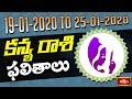 Virgo Weekly Horoscope By Dr Sankaramanchi Ramakrishna Sastry | 19 Jan 2020 - 25 Jan 2020