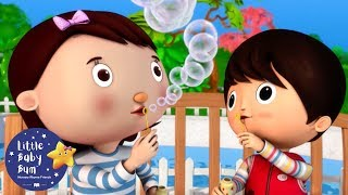ABCD Bubble Train | Little Baby Bum | Learn With LBB | #howto