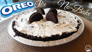 No-Bake Oreo Pie Recipe | How To Make an Oreo Pie | The Sweetest Journey