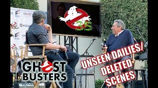 GHOSTBUSTERS FANFEST 2019 - Jason & Ivan Reitman - FULL PANEL Movie Dailies footage, Deleted Scenes