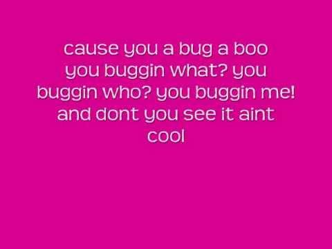 Bug-A-boo with lyrics